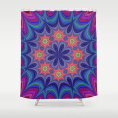 Kaleidoscope Shower Curtain