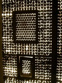 MOUCHARABIEH Inde  Moucharabieh  decorative window screens  Perforated screens  Pinterest