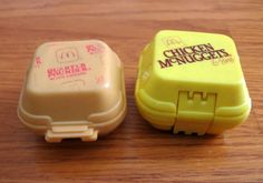 Lot of 2 1980s-90s McDonalds Transformer Toys