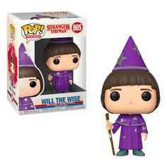 Things will Funko Pop! Television 805 - Stranger Things - Will the Wise vinyl figure Stranger Things Funko Pop, Stranger Things Season 3, Funko Pop Dolls, Funko Toys, Funk Pop, Pop Toys, Pop Characters, Funko Pop Vinyl, Vinyl Figures