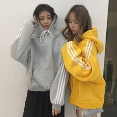 カジュアルストライプ配色フード付き合わせやすいパーカー Hoodies, How To Make, Sweaters, Things To Sell, Fashion, Clothing, Moda, Sweatshirts, Fashion Styles