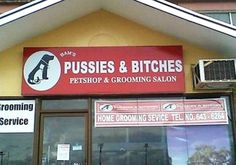 Pussies and Bitches. Funny English Signs, Funny Pinoy, Funny Filipino Pictures, Tagalog jokes, Pinoy Humor pinoy jokes #pinoy #pinay #Philippines #funny