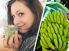 Grüne Bananen Frühstück Abnehmen resistente Stärke