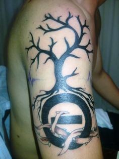 Nice Type O Negative Tattoo. I'd probably make the logo smaller.