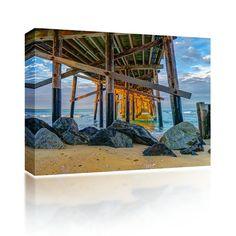 Rocks Under Newport Pier