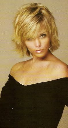 Short Shag Hairstyles For Round Faces Coiffure cheveux