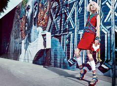 Vogue U.S. March 2014 | Joan Smalls and Suvi Koponen by Craig McDean