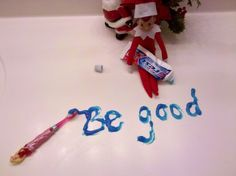 """be good"" in toothpaste"