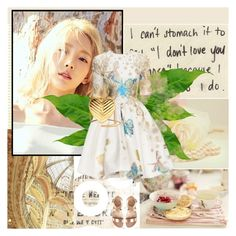 """16. Taeyeon"" by mirmin ❤ liked on Polyvore featuring Yves Saint Laurent, kpop, Snsd, GirlsGeneration, taeyeon and smtown"