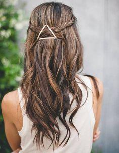 Coiffure cheveux ondulations naturelles automne-hiver 2016 - Cheveux ondulés…