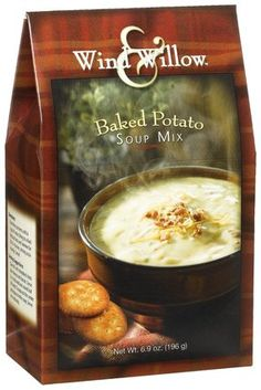 Wind and Willow Baked Potato soup is rich, creamy, delicious and ready in 20…