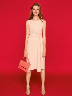 Sheath Dress 04/2016. Not a fan of the pink, but in a brighter/deeper color, with a more scooped neckline.