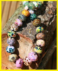 Check out our individually handmade lampwork beads. Just the thing to make you own creations UNIQUE. Make Your Own, How To Make, Beautiful One, Lampwork Beads, Beaded Bracelets, Unique, Check, Gifts, Handmade