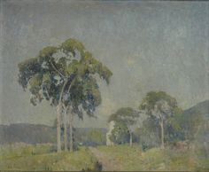 """Landscape with Trees,"" Emil Carlsen, oil on canvas, 26 15/16 x 33 1/16"", Princeton University Art Museum."