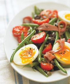 Green Bean Salad with Anchovies...minus the anchovies