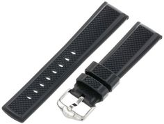 Hirsch 404788-50-22 22 -mm  Caoutchouc Watch Strap -- Read more reviews of the product by visiting the link on the image.