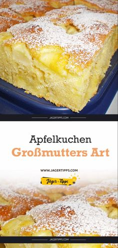 Apfelkuchen Großmutters Art – Jäger-Tipps You are in the right place about baking recipes easy Here we offer you the most beautiful pictures about the baking recipes peanut butter you are looking for. Baking Recipes, Cake Recipes, Snack Recipes, Dessert Recipes, Snacks, Grandmas Apple Pie, Cheap Easy Meals, Pumpkin Spice Cupcakes, Fall Desserts
