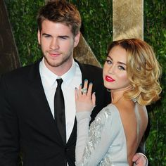 Miley e Liam reataram e ela, inclusive, voltou a usar o anel de noivado que ele lhe deu há dois anos (Foto: Getty Images/ Reprodução)