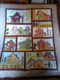 37 Best My Kinda Town Quilts Images Quilts House Quilts