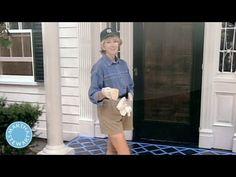 ▶ Throwback Thursdays: How to Stencil-Paint a Porch - Martha Stewart - YouTube