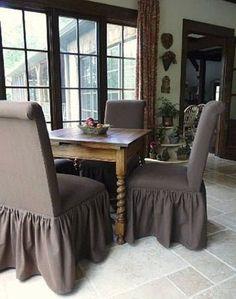 Parsons chair idea!