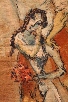 Pablo Picasso: Composition Paysons, 1906. Musée de l'Orangerie.