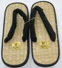"thongs before ""thongs"".  Loved wearing these in college, especially when I could buy them for $1.00"