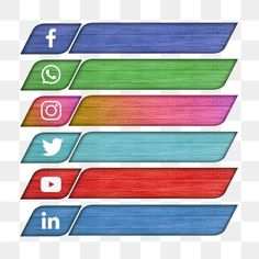 Black Social Media Icons, Social Icons, Social Media Logos, Social Media Marketing, Social Png, Guerrilla Marketing, Street Marketing, Social Media Buttons, Social Media Banner