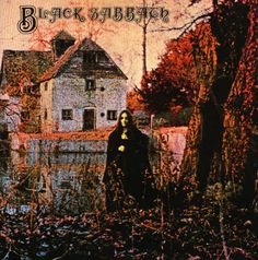Black Sabbath - self titled (1970) From a photo of a woman dressed in black at the Mapledurham Watermill, situated on the River Thames in Oxfordshire, England. Sample