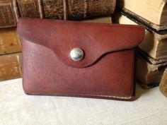 Vintage Leather Hip Bag // Belt Pouch // Belt by JansVintageStuff, $48.15