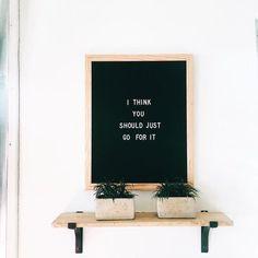 Large Felt Letter Boards available at http://www.tylerkingston.com