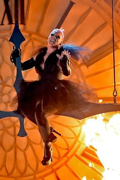 """Pink Fires Back at People Saying Lady Gaga """"Stole"""" Her Signature Move at the Super Bowl"""