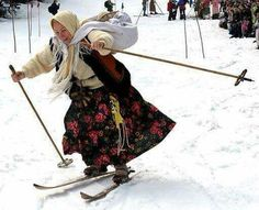 Grace on the snow!