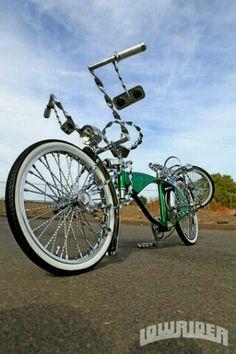 Lowrider bike. Trike Bicycle, Lowrider Bicycle, Lowrider Art, Motorcycle Bike, Recumbent Bicycle, Cool Bicycles, Cool Bikes, Bmx, Bicycle Drawing