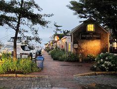 The Shopping on Old South Wharf Nantucket