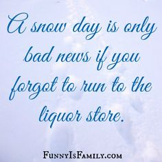 Snow Day: A Survival Guide for Moms @FunnyIsFamily