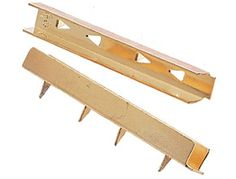 DIY Drawer Dividers:  Tap them into the side of a drawer and add a strip of 1/4 inch wood or masonite or even foamcore. They come in a pack of 10. Length is 2 1/2 inches.