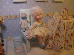 OOAK Dollhouse Miniature Girl Doll * Edith * by Carol McBride 1 Day-List