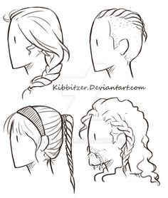 I'm studying curly hair! this is a little preview, if you think that this is useful and you are interested onpatreonyou can get: -all the monthly complete standard reference...