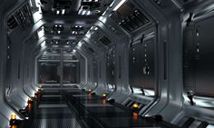 corridor octa.09 by Roman Nowak