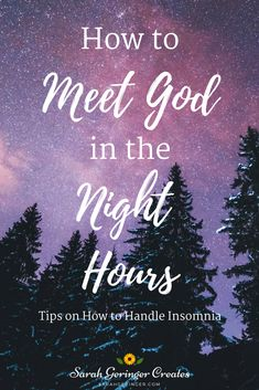 Suffering from insomnia? Here's how to use the night hours to meet with God in prayer and Christian meditation. Learn more tips on this practical post. #spiritualgrowth #christianmeditation #insomnia #christianfaith Christian Post, Christian Living, Christian Faith, Hope In Jesus, Christian Meditation, Meditation For Beginners, Mental And Emotional Health, Bible Studies, Finding Peace