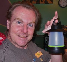 Martin won this lantern for $0.32 using 10 voucher bids! #QuiBidswin