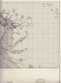 Schema punto croce - Shimmering Mermaid | Hobby lavori femminili - ricamo - uncinetto - maglia