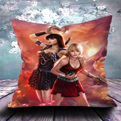#xena #pillow #case #design #vintage #gift #birthdays #ucaser #cushion #cover