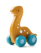 Dinosaurie på Hjul i Trä - Ekologisk 69:-