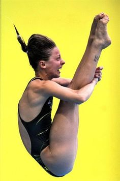 Crazy Diving Faces - Diving Slideshows Sharleen Stratton (AUS) | NBC Olympics
