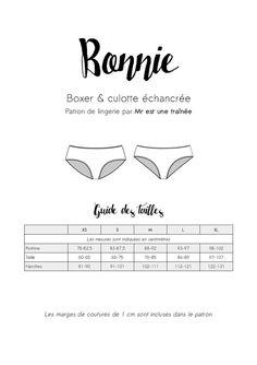 Bonnie Panties Pattern