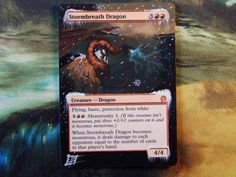 Stormbreath Dragon Altered Art Theros Rare