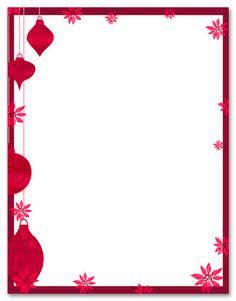Free Printable Christmas Stationery | ... Christmas Stationery ...