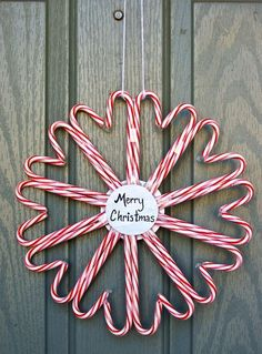 Candy Cane Decor